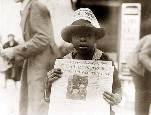 Newspaper-Black-Boy